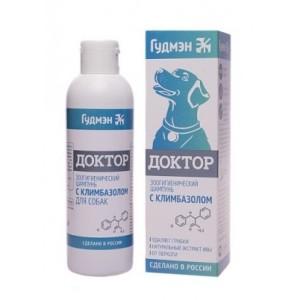 Противогрибковый шампунь для собак Доктор с климбазолом